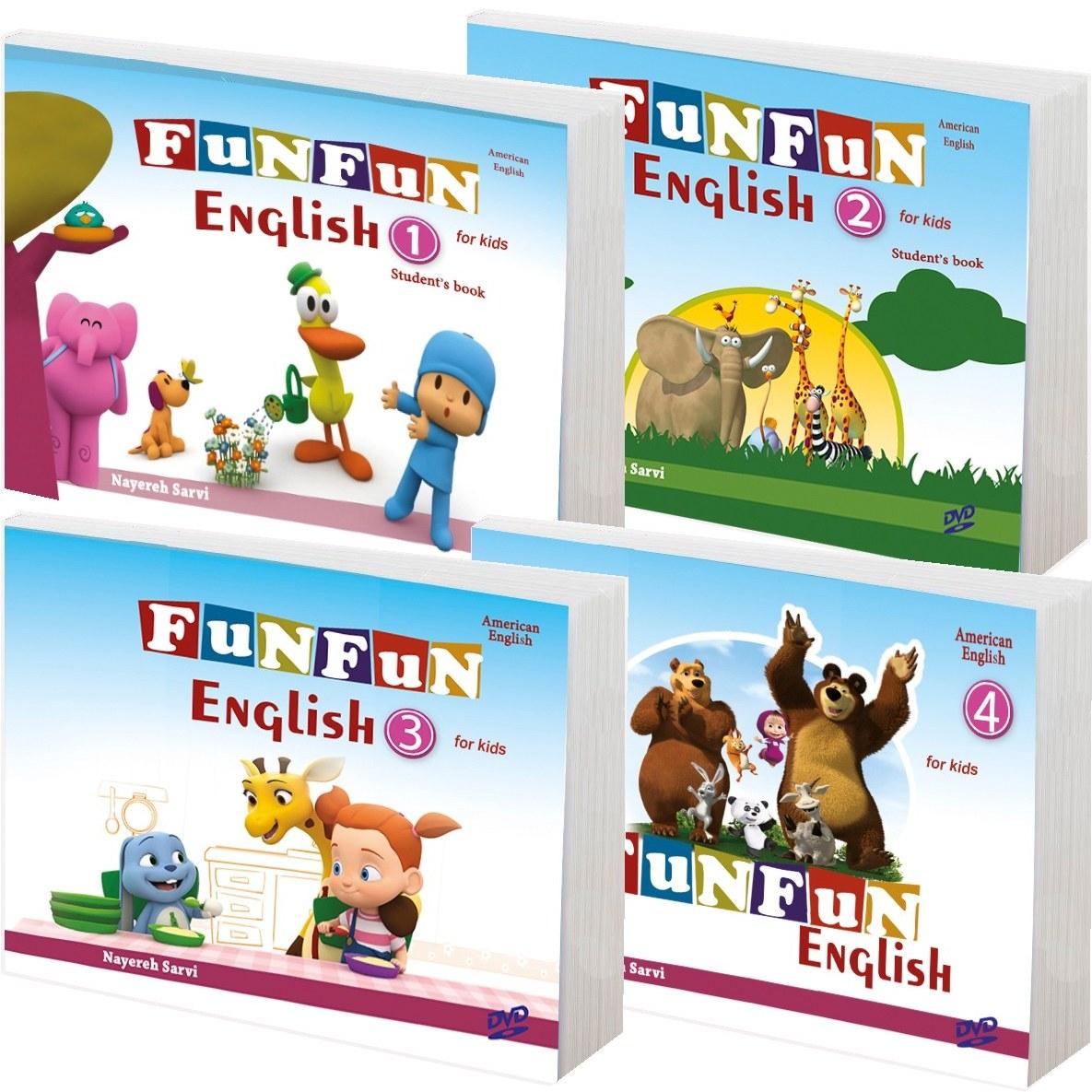 مجموعه آموزش زبان انگلیسی Fun Fun English برای کودکان