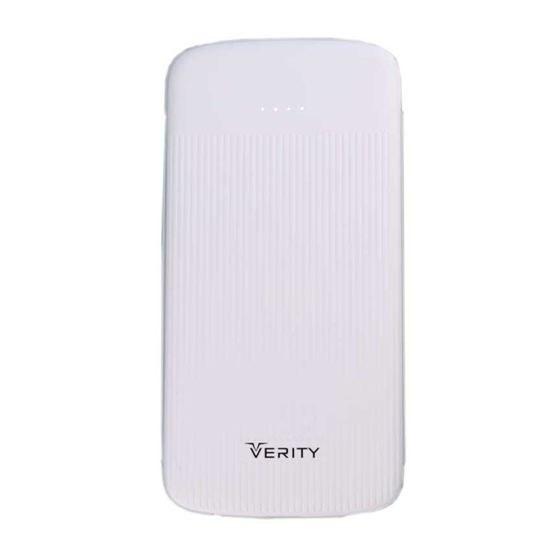 شارژر همراه وریتی مدل Verity V-PU95 با ظرفیت 10000 میلی آمپر ساعت