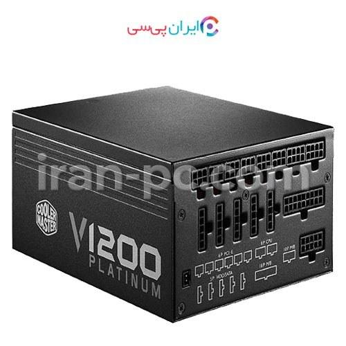 تصویر منبع تغذیه کامپیوتر کولرمستر مدل V1200 PLATINUM Cooler Master V1200 PLATINUM Power Supply