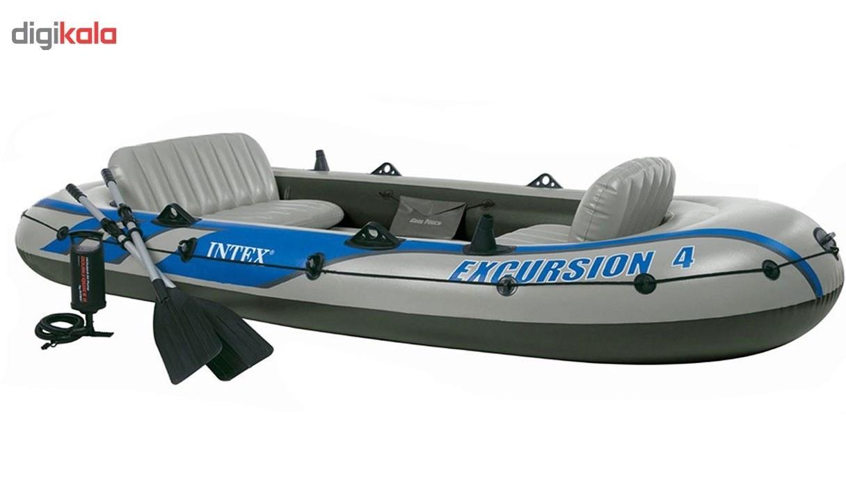 img قایق بادی اینتکس مدل Excursion4