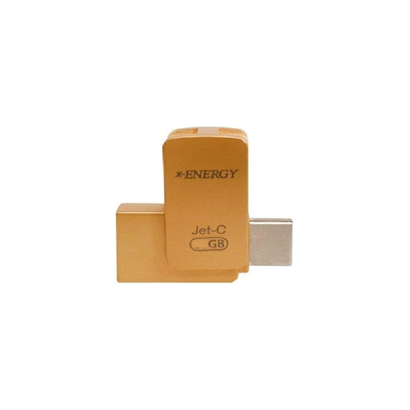 تصویر فلش مموری OTG ایکس انرژی مدل Jet-C با ظرفیت 64 گیگابایت X-Energy Jet-C USB 3.0 64GB OTG Flash Memory