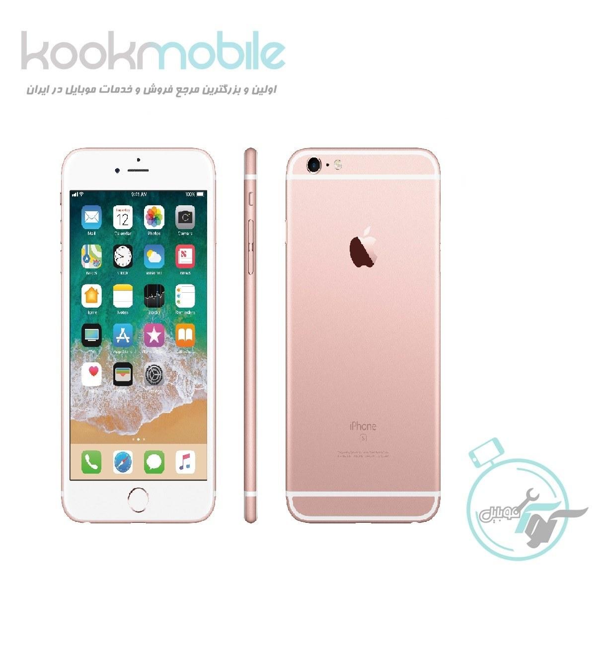 عکس گوشی اپل آیفون 6s Plus   ظرفیت ۳۲ گیگابایت Apple iphone 6s Plus   32GB گوشی-اپل-ایفون-6s-plus-ظرفیت-32-گیگابایت