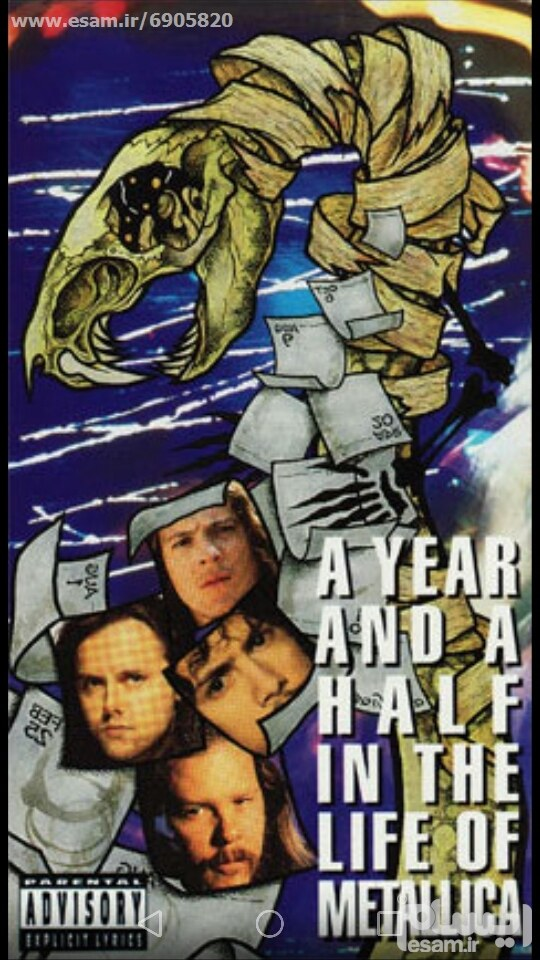 A Year & Half in The Life Of METALLICA