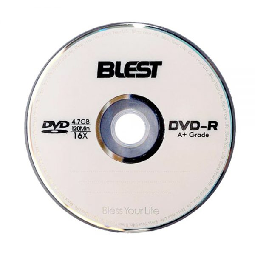 دی وی دی خام بلست مدل DVD-R بسته ۱۰ عددی  