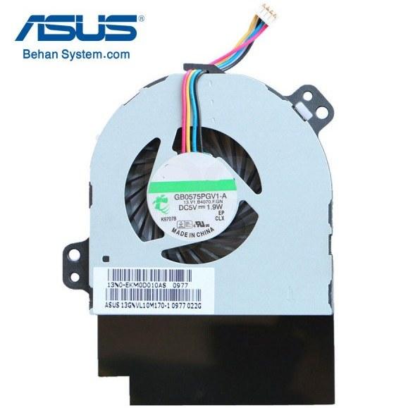 تصویر فن پردازنده لپ تاپ ASUS مدل UX50 برند SUNON  /  چهار سیم