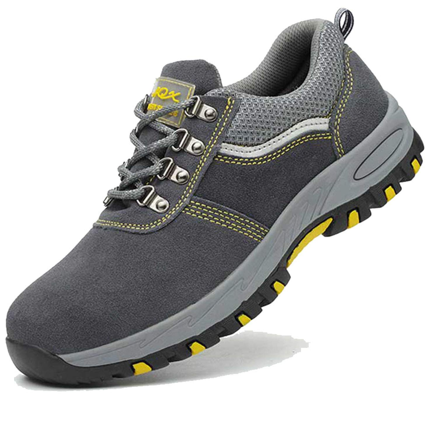 2d5f484e76919 SUADEX Steel Toe Shoes Men Women Work Safety Shoes Waterproof Lightweight  Industrial Construction Puncture Proof Shoes