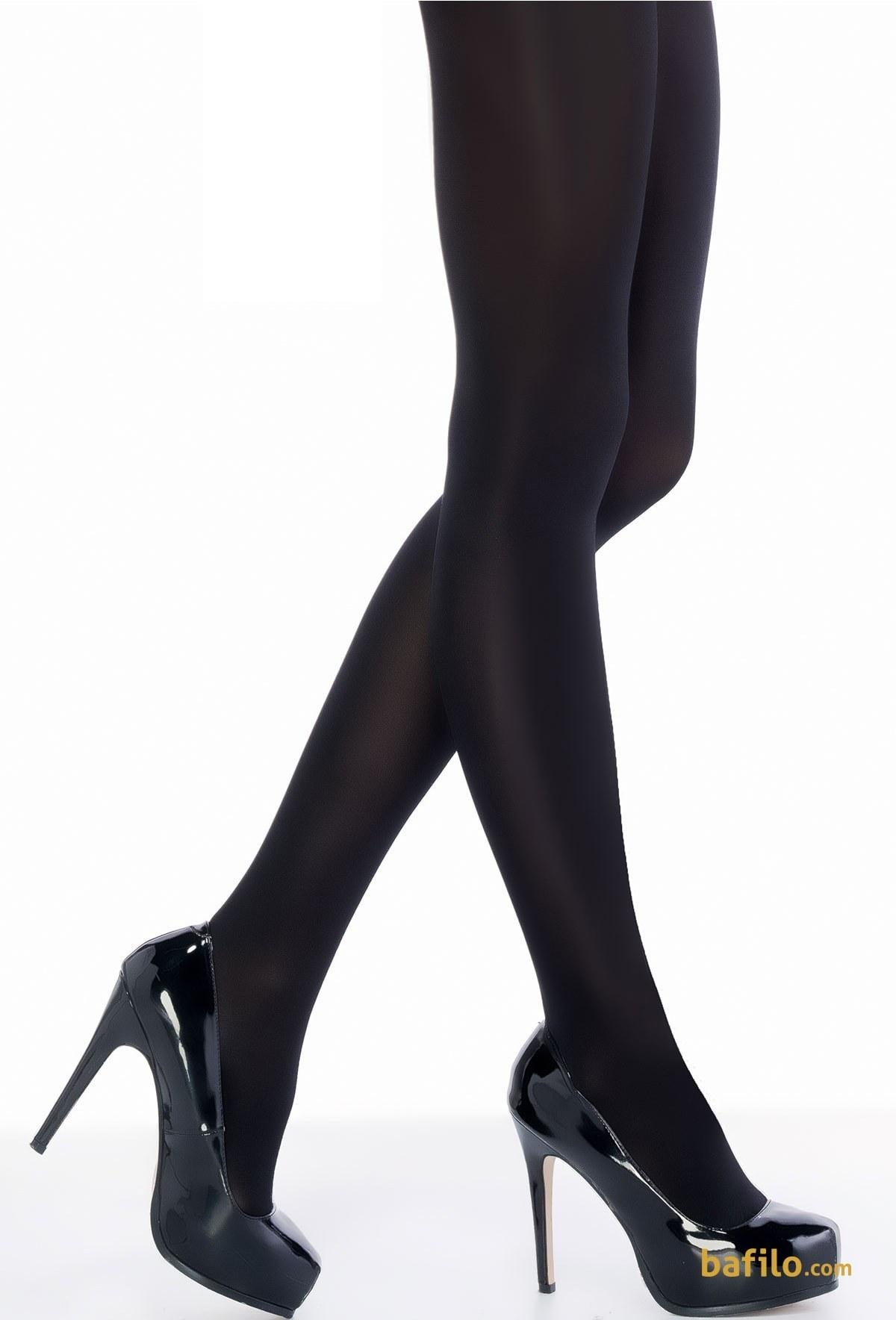 جوراب شلواری ضخیم زنانه پنتی Mikro 100 - مشکی