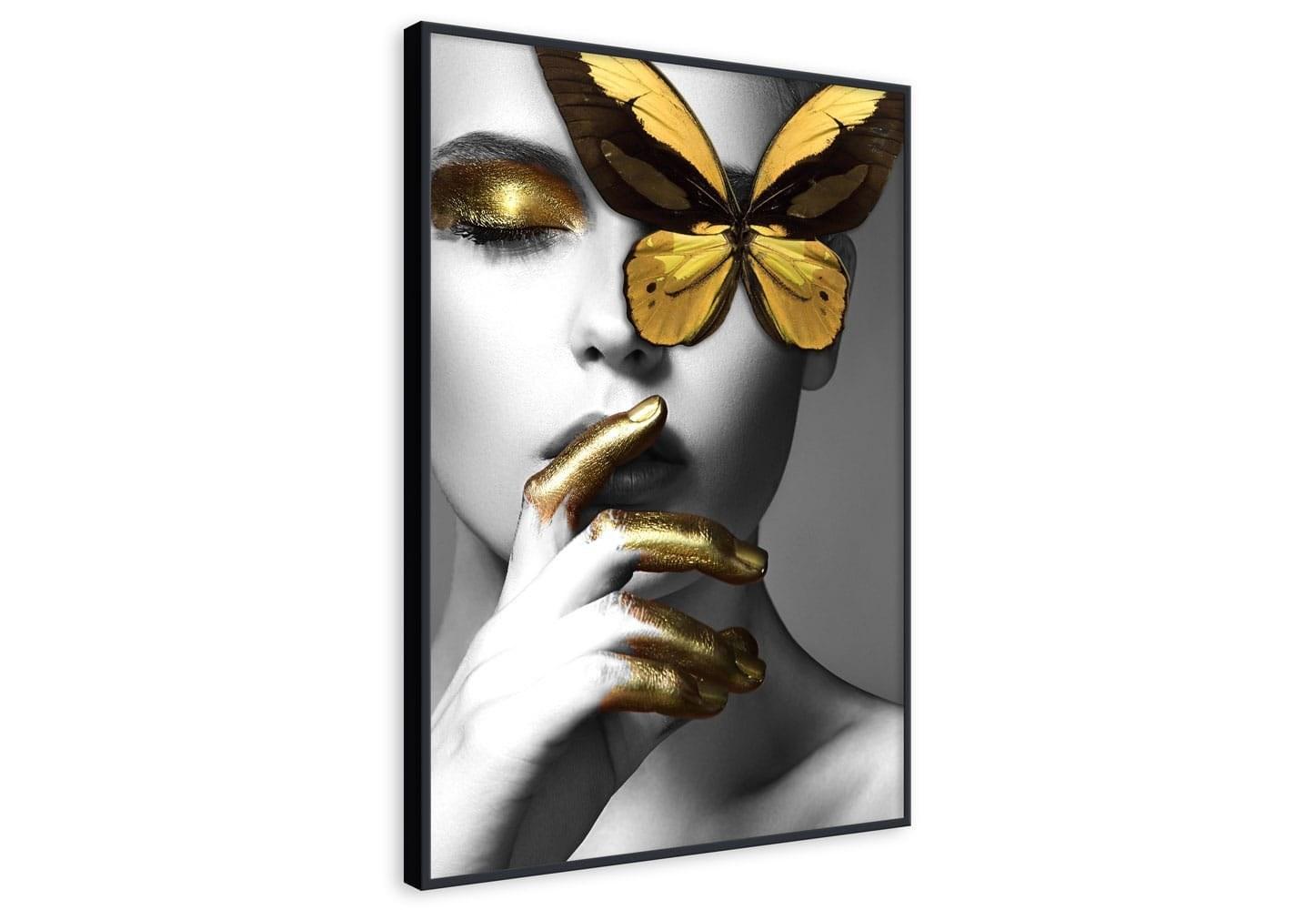 عکس تابلو طرح سکوت پروانهای  تابلو-طرح-سکوت-پروانه-ای