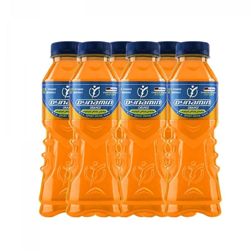 تصویر نوشیدنی ورزشی پرتقالی داینامین باکس 6 عددی