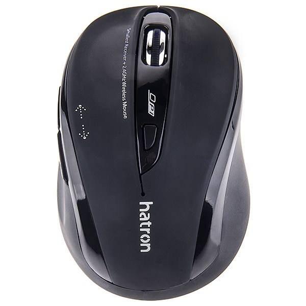 تصویر موس بی سیم سایلنت Hatron HMW120SL Hatron HMW120SL WireLess Mouse