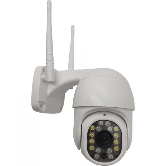 تصویر دوربین وایرلس چرخشی دید در شب رنگی yoosee مدل gw-d16a IP wireless camera gw-d16a yoosee