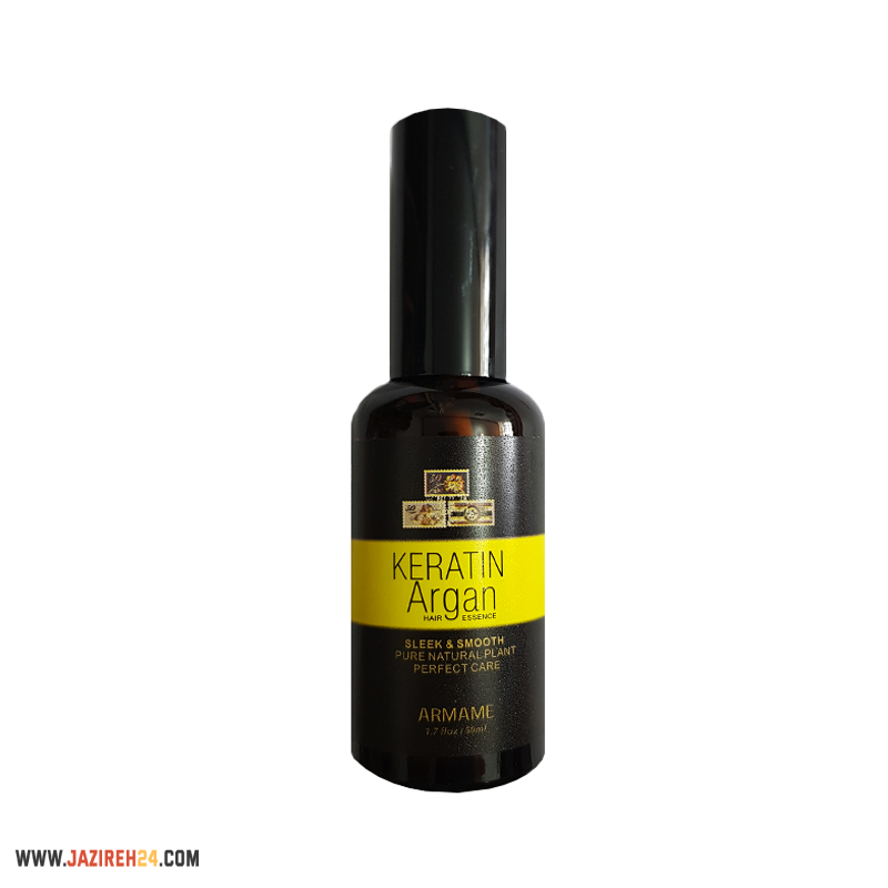 عکس روغن آرگان و کراتین KERATIN ARGAN HAIR ESSENCE 50ML KERATIN ARGAN HAIR ESSENCE 50ML روغن-ارگان-و-کراتین-keratin-argan-hair-essence-50ml