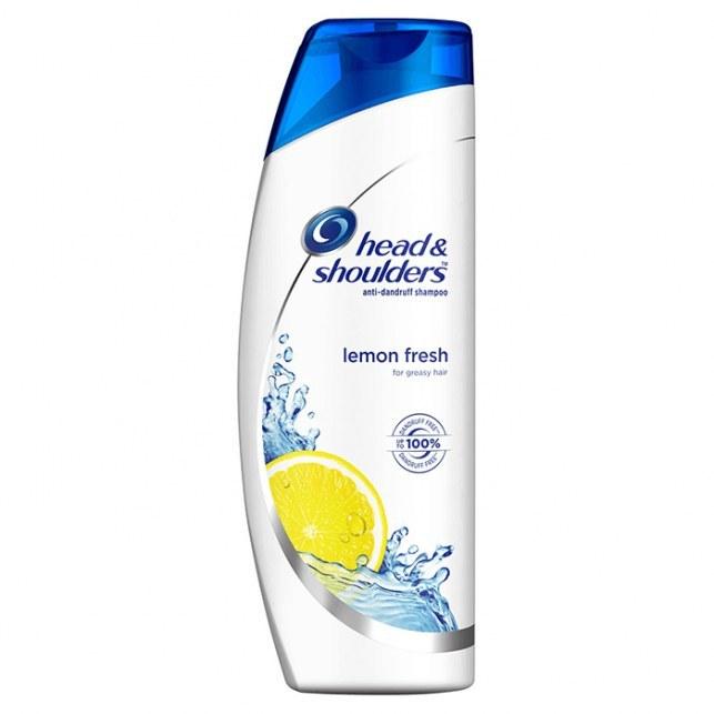 عکس شامپو لیمو هد اند شولدرز مدل Lemon Fresh Head And Shoulders Lemon Fresh Anti Dandruff Shampoo شامپو-لیمو-هد-اند-شولدرز-مدل-lemon-fresh
