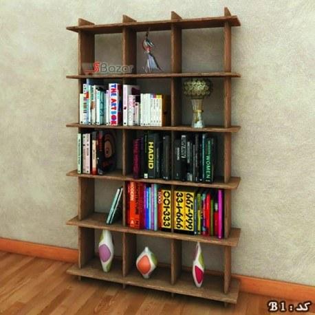 کتابخانه پانزده خانه MDF |