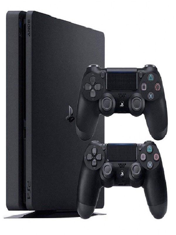عکس کنسول بازی سونی مدل پلی استیشن  4 اسلیم کد CUH-2215 R1 ظرفیت 1 ترابایت Sony Playstation 4 Slim CUH-2215 R1 1TB Console کنسول-بازی-سونی-مدل-پلی-استیشن-4-اسلیم-کد-cuh-2215-r1-ظرفیت-1-ترابایت