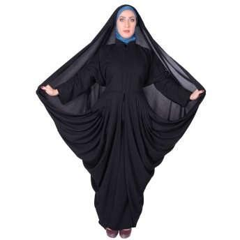 چادر مانتو افرا شهر حجاب مدل 8062