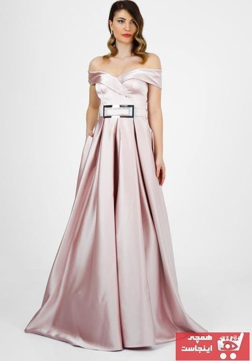 تصویر لباس مجلسی جدید برند VOLAN رنگ صورتی ty103639576