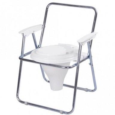 توالت فرنگی دسته دار تاشوی گالوانیزه