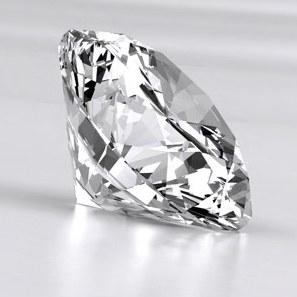 الماس روسی (مویزنایت) 2 قیراطی |