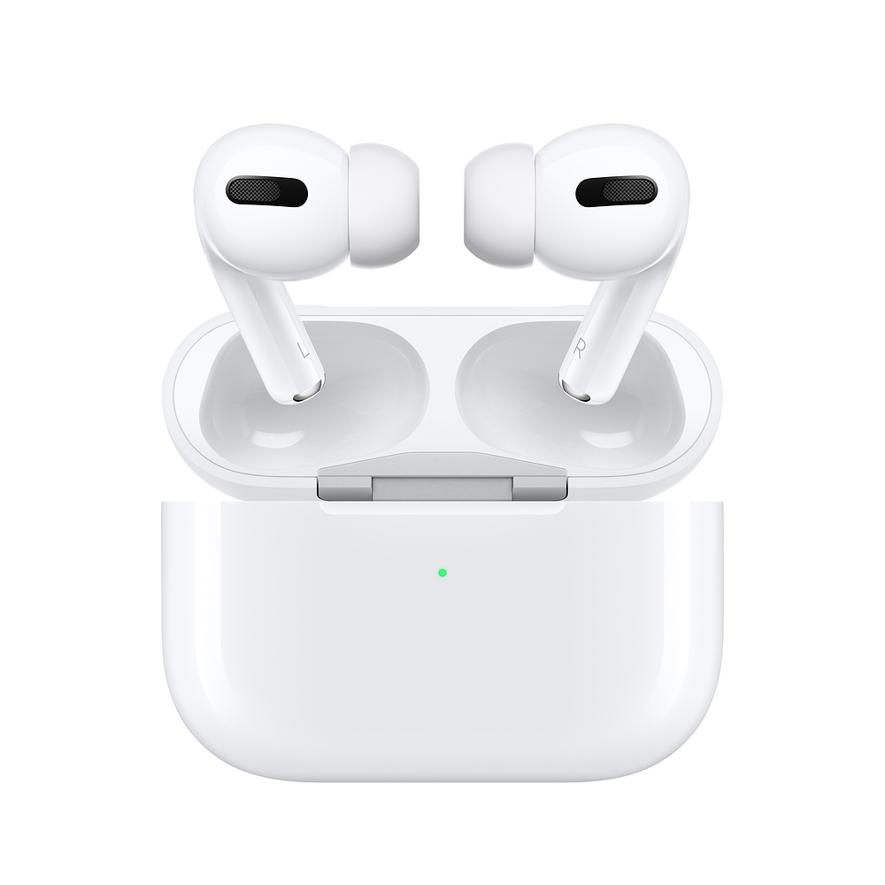 تصویر هدفون بی سیم اپل مدل airpods pro (اصل) Apple AirPods Pro Wireless Headphones with Charging case