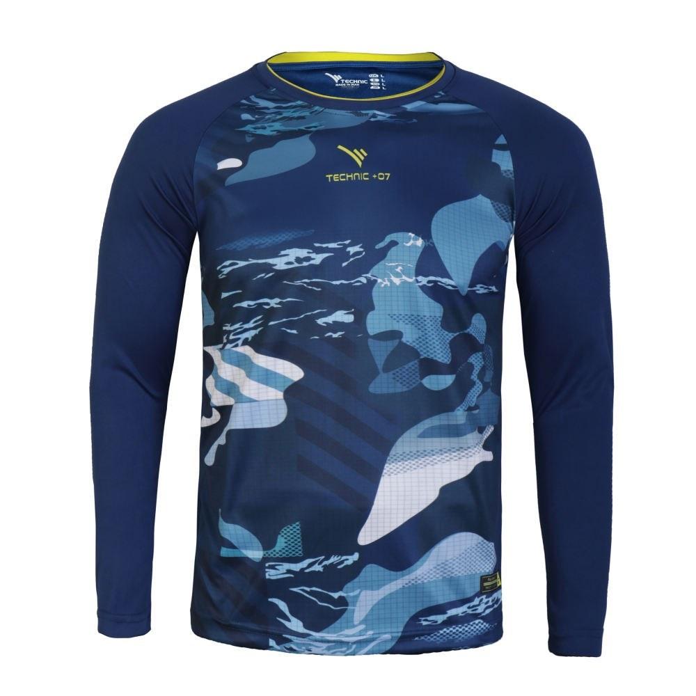 تصویر تی شرت ورزشی مردانه تکنیک پلاس 07 کد GO-112-SO