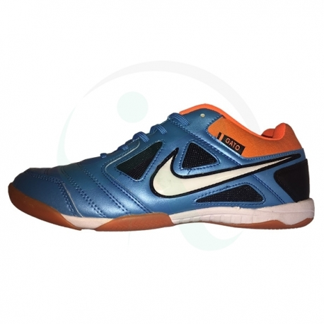 کفش فوتسال طرح نایک گتو آبی Nike Gato