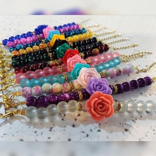 عکس دستبند دخترانه پک 12عددی  دستبند-دخترانه-پک-12عددی