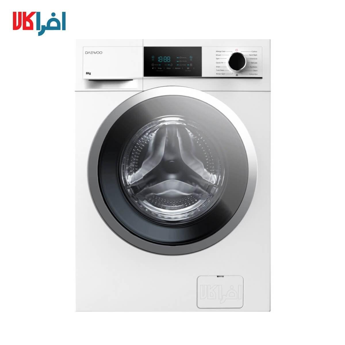 عکس ماشین لباسشویی دوو سری کاریزما مدل DWK-8020W ظرفیت 8 کیلوگرم DAEWOO WASHING MACHINE DWK-8020 8 KG ماشین-لباسشویی-دوو-سری-کاریزما-مدل-dwk-8020w-ظرفیت-8-کیلوگرم