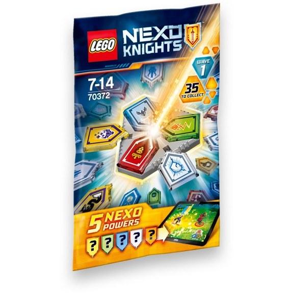 تصویر لگوی شانسی از سری Nexo Knights 1