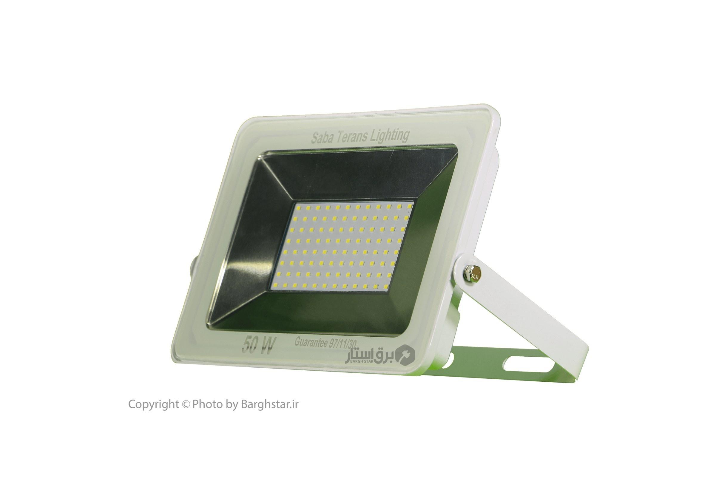 تصویر پروژکتور ال ای دی 50 وات آی پد صبا ترانس (LED-SMD)