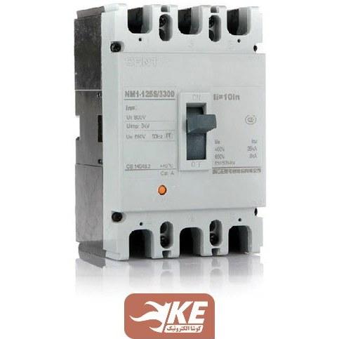 تصویر کلید اتوماتیک  125آمپر فیکس چینت مدل NM1-125H