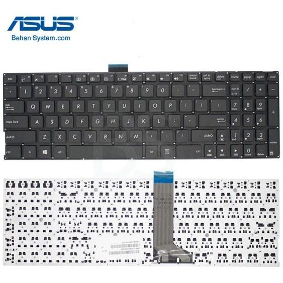 تصویر کیبورد لپ تاپ ASUS K555 / K555B / K555D / K555L / K555S / K555U / K555Z