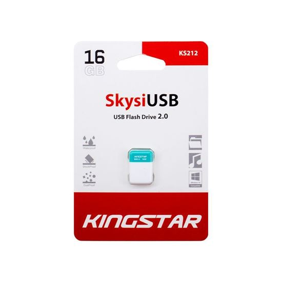 main images فلش مموری USB2.0 کینگ استار 64 گیگابایت مدل Kingstar Skysi KS212 Kingstar Skysi KS212 Flash Memory USB 2.0 64GB
