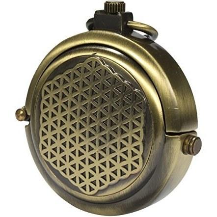 ManChDa مردان برنزه پرنعمت برنز برنز مخفی حک شده Steampunk زنجیره ای ساعت جیب مکانیکی در جعبه هدیه