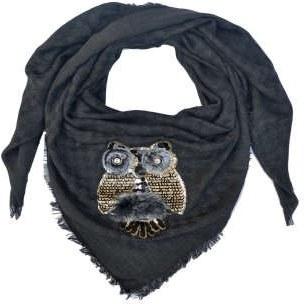 روسری زنانه طرح جغد |