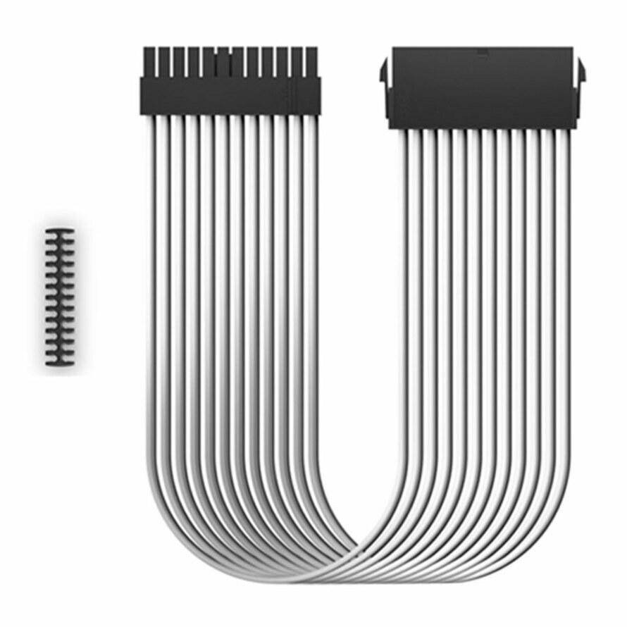 تصویر کابل اسلیو دیپ کول EC300-24P-WH DEEPCOOL EC300-24P-WH Sleeved Cable