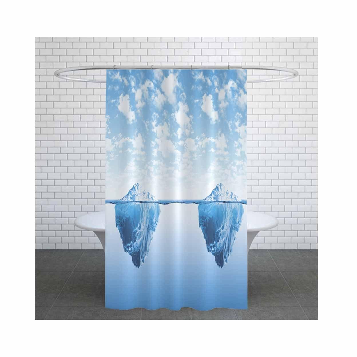 تصویر پرده حمام دلفین کد jack-5322 سایز 200×180 سانتی متر