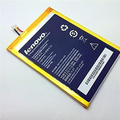 تصویر باتری اصلی تبلت لنوو A3000 مدل L12D1P31 Battery Lenovo A3000 - L12D1P31