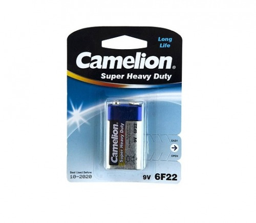 باطری(باتری)  کتابی 9 ولت کملیون Camelion Super Heavy Duty |