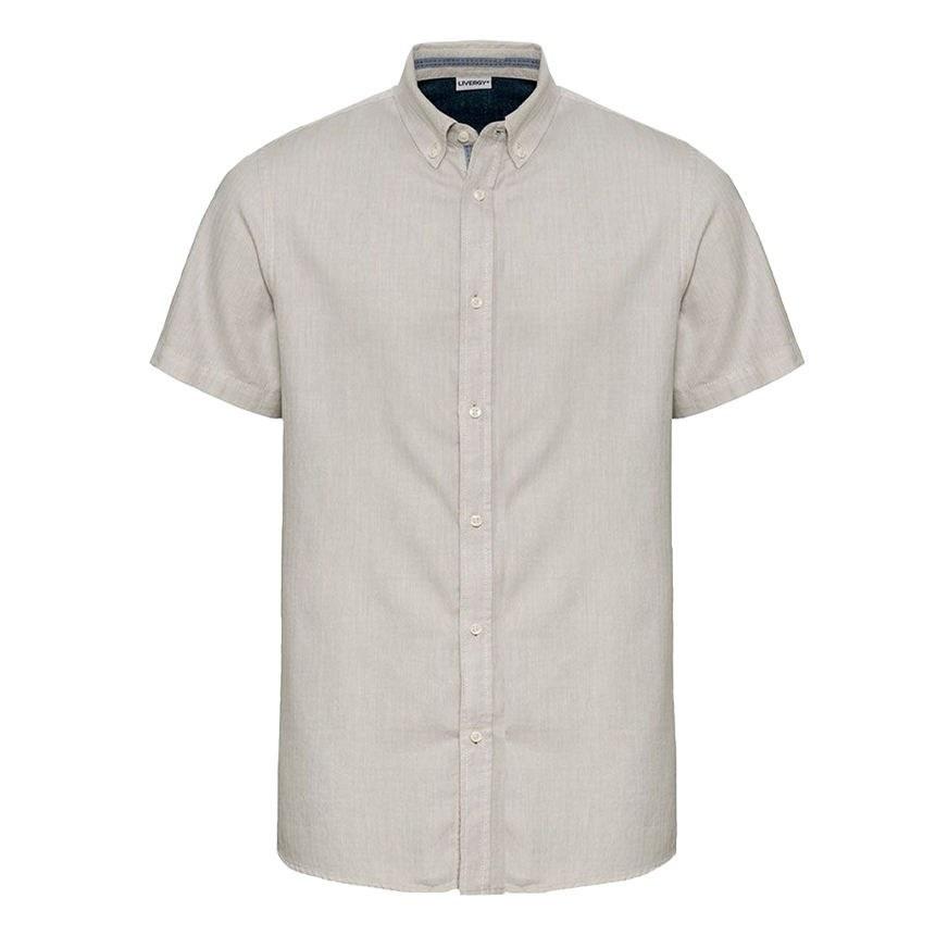 تصویر پیراهن آستین کوتاه مردانه لیورجی
