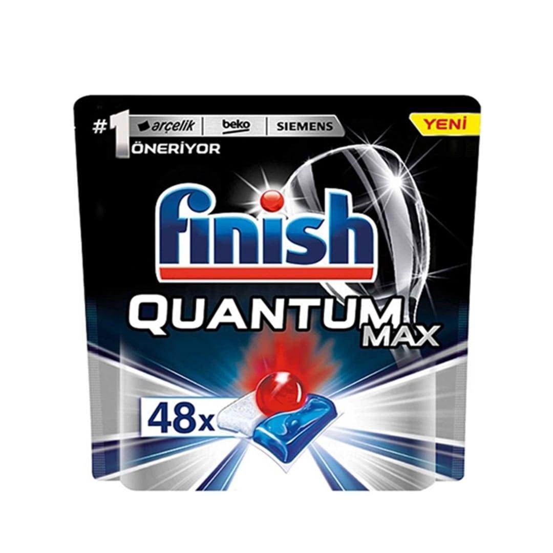 تصویر قرص ماشین ظرفشویی فینیش مدل کوانتوم مکس 48 عددی کوانتوم مکس