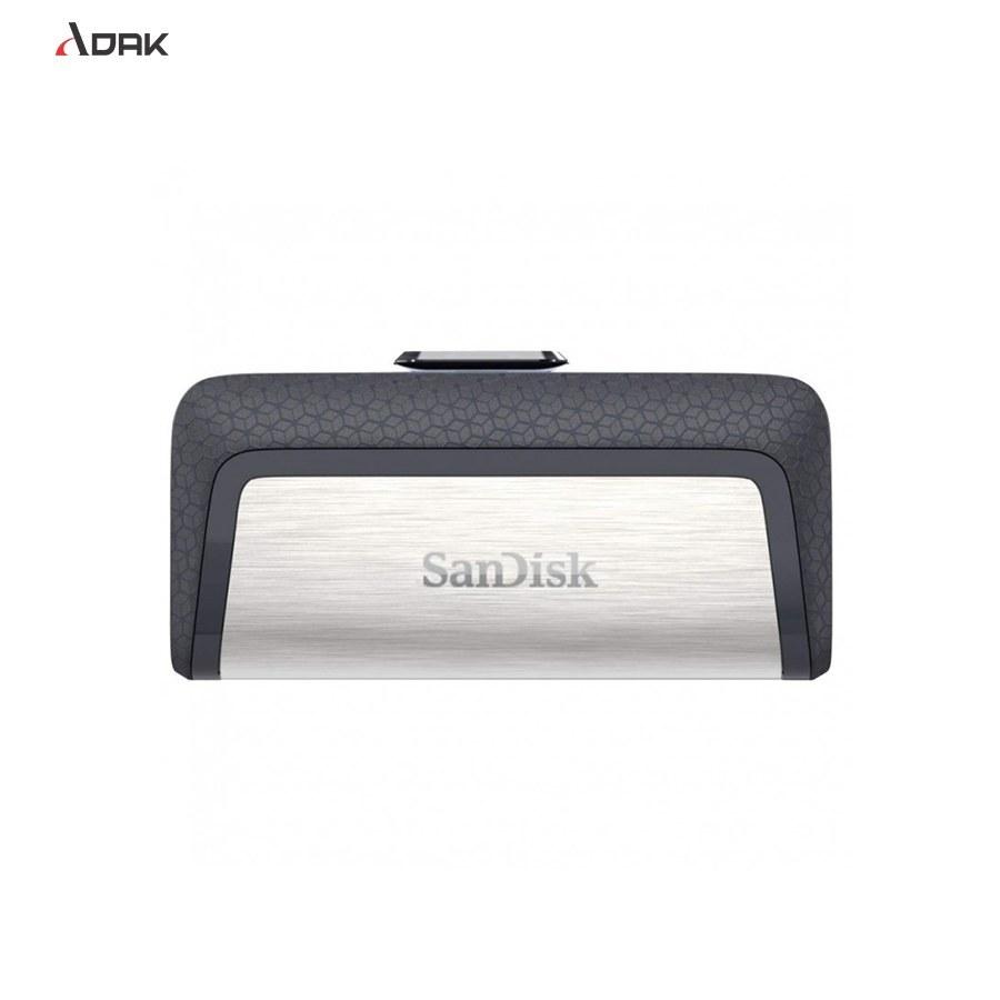 تصویر فلش مموری سن دیسک مدل  USB Type-C Drive ظرفیت 64 گیگابایت Sandisk USB Type C Drive USB Flash Memory  64 GB