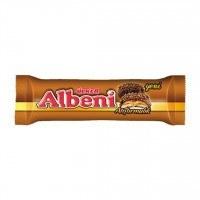 تصویر بیسکوئیت کاراملی شکلاتی آلبنی اولکر