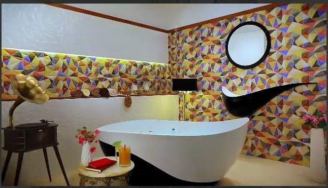 تصویر وان حمام سنگی Solid Surface زنو ZENO مدل W02