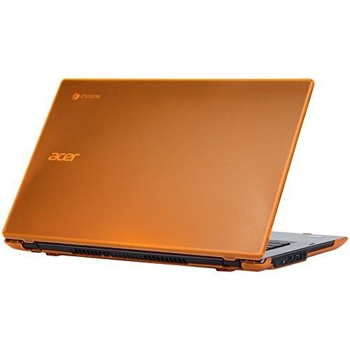 کیس سخت شل iPearl mCover برای 14 اینچی لپ تاپ Acer Chromebook 14 for Work CP5-471 سری (نارنجی)