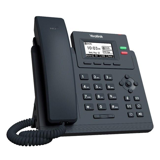 تصویر تلفن تحت شبکه یالینک مدل SIP-T31G Yealink SIP-T31G IP Phone