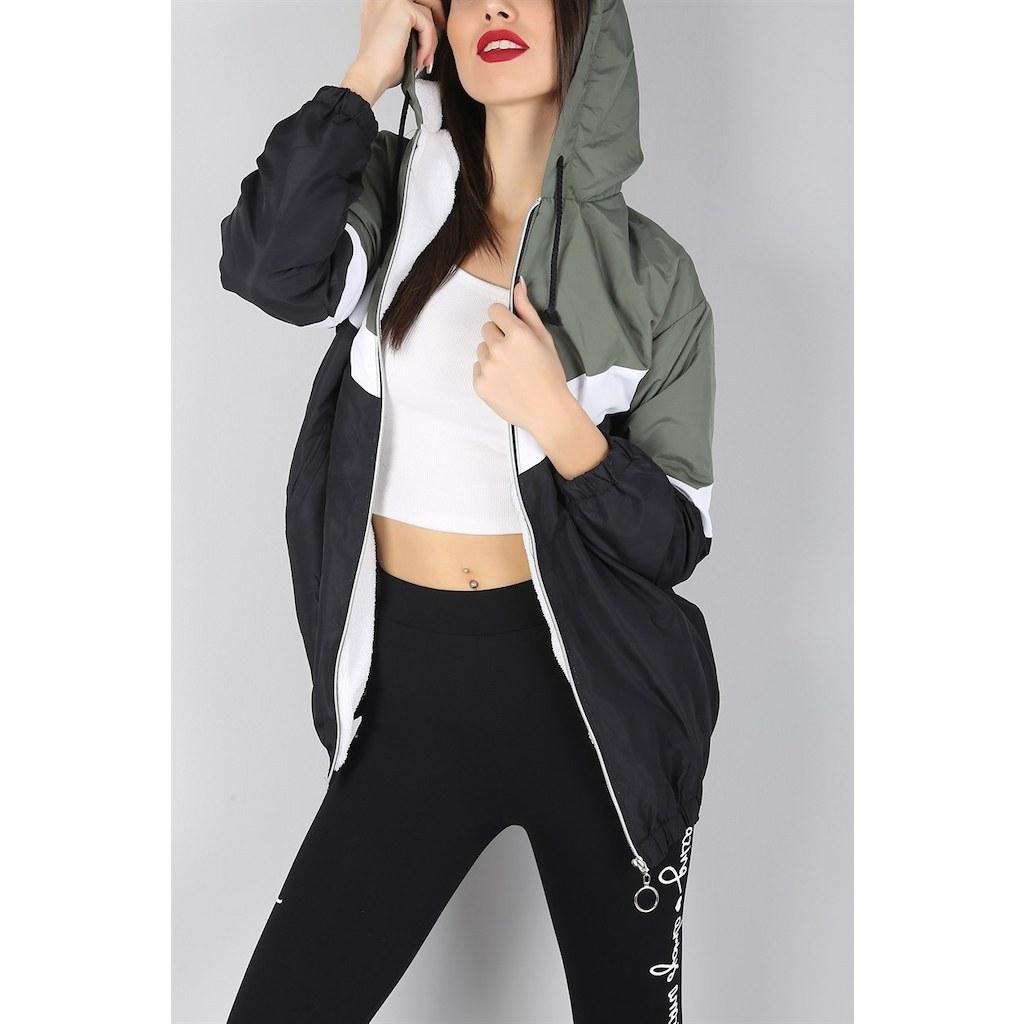 خرید کاپشن ورزشی زنانه برند 2b trendy اینترنتی از ترکیه کد 734K