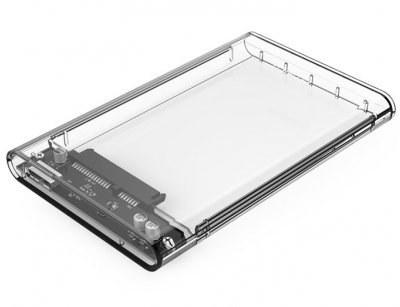 باکس هارد اوریکو مدل ۲۱۳۹U۳   ORICO 2139U3 2.5 inch Transparent USB3.0 Hard Drive Enclosure