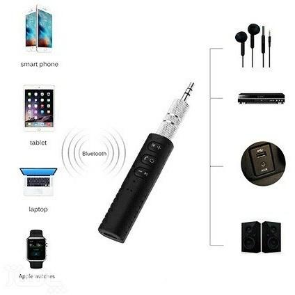 تصویر تبدیل ورودی AUX به بلوتوث Audio Bluetooth Reciver