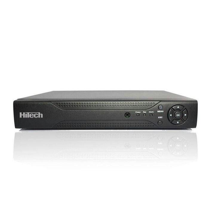 تصویر دی وی آر ۸ کانال هایتک ۱۰۸۰N Hitech XVR 8ch Channel CCTV Video Recorder 1080n Hybrid